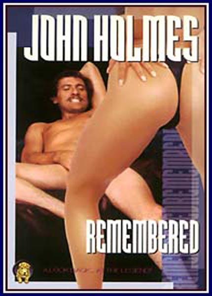 John Holmes remembered vintage dvd