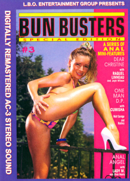 Bun Busters 3, classic porn dvd, vintage porn dvd, anal ass vintage fucking, porn star classics update, vintage anal